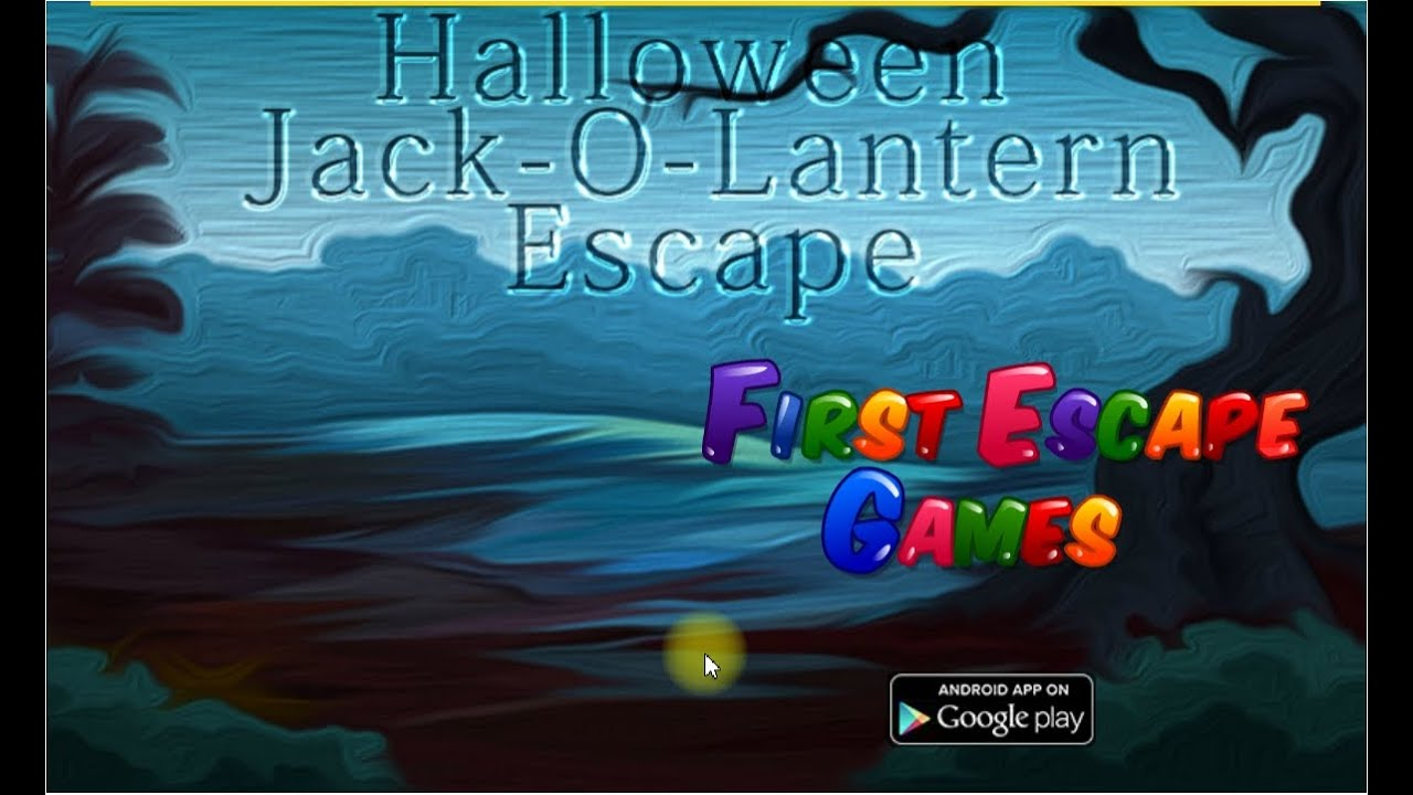 Halloween Jack O Lantern Escape First Escape Games