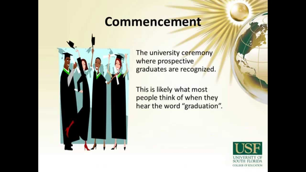 Graduate Student Graduation And Degree Certification Usf Coedu