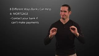 Banks Can Help You