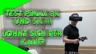 VoodooDE testet die Pimax 8K und 5K! Lohnt sich der Kauf? Erster deutscher Test! [Virtual Reality]