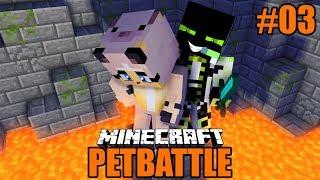 DAS FINALE IN DER TODES SCHLUCHT! ✿ Minecraft PetBattle #03 [Deutsch/HD]