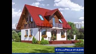 Anahtar Teslim Ev Villa Projeleri - Yeni Modeller Ağustos 2014