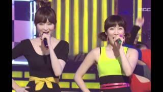 Davichi - Love and War, 다비치 - 사랑과 전쟁, Music Core 20081227