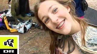 Skal optage den vildeste scene på en skrænt! | Den Anden Verden: Carolines Vlog | DR Ultra