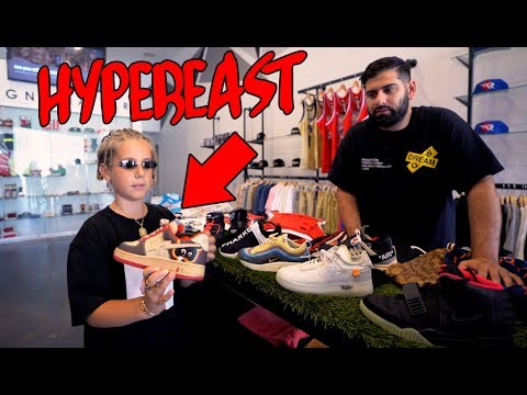 WORLDS YOUNGEST HYPEBEAST COLLECTION!! (RARE SNEAKERS)