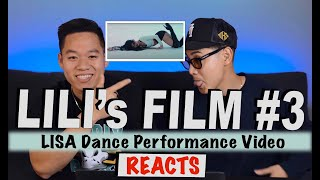 LILI's FILM #3 - LISA Dance Performance Video DANCER & VIDEOGRAPHER REACTION