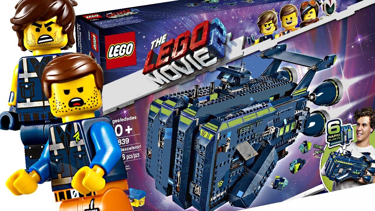The Lego Movie 2 Summer 2019 Set The Rexcelsior Youtube