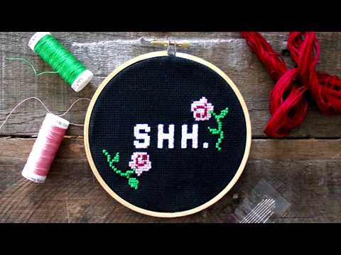 Cross Stitching For Beginners