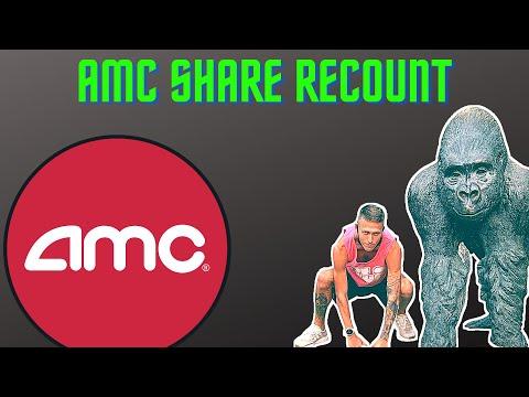 AMC Stock - The Share Recount