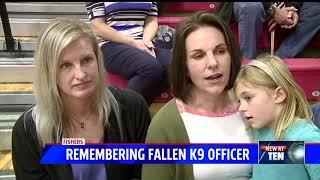Remembering Fishers K-9 Officer Harlej