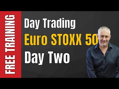 Day Trading Euro STOXX 50 - Day Two