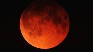 Eclipse de Luna / 15 de Abril de 2014. (moon eclipse 2014).