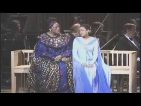 """Spirituals in Concert,"" Jessye Norman & Kathleen Battle, Carnegie Hall [1980]"