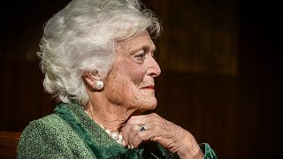 """Barbara Bush Claimed """"Symbol Of Greed"""" Donald Trump Caused Her Heart Attack"""