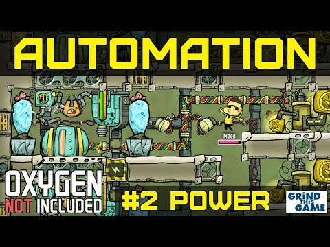NEW AUTOMATION BASE #2 - Natural Gas Generator Power - Oxygen Not Included Automation Upgrade