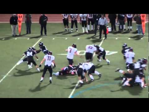 Doug Haywood #27 Linebacker 2011 Football Highlights Buena High School