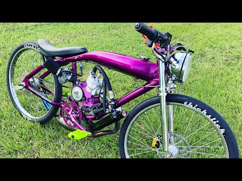 am6-billet-motorized-bicycle-first-start-with-water-in-it-(part-2)