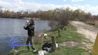 Рыбалка весной, весенний карась на дальний заброс, карась ранней весной(Рыбалка весной, весенний карась на дальний заброс, карась ранней весной Рыбалка вертушкой поклевка..., 2015-04-15T06:39:55.000Z)