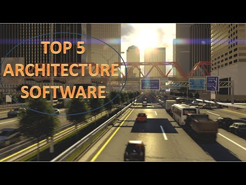 Top 5 ARCHITECTURE SOFTWARE (3D Design)