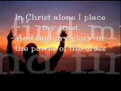 In Christ Alone - Brian Littrell (with lyrics)