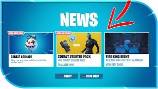 🔴NEUE 'CHILLER GRANATE' UND 'KOBALTSTARTER PACK' LIVE GAMEPLAY! NEUE FORTNITE CHILLER GRENADE UPDATE