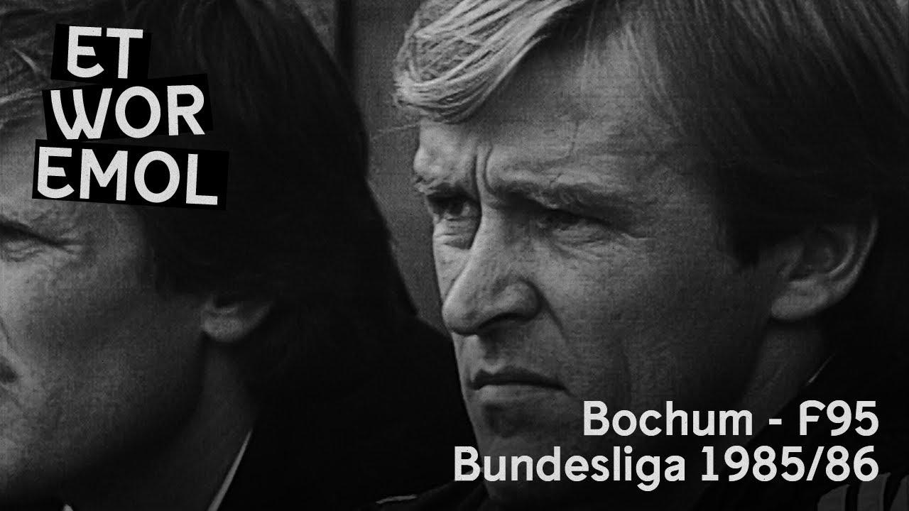et wor emol vfl bochum vs fortuna dusseldorf 1985 86 f95 historie
