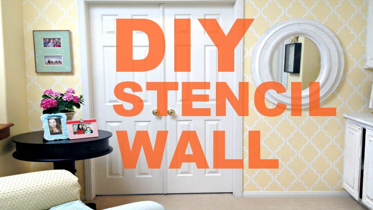 Wall Paint Wallpaper how to paint a wall like wallpaper |michele baratta - youtube