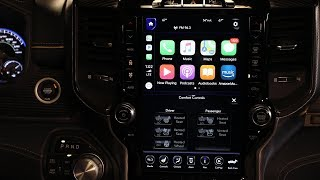2019 Ram 1500 adds Apple CarPlay Android Auto to Uconnect system