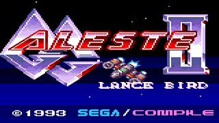 GG Aleste II Lance Bird for Sega Game Gear by Compile [720p]