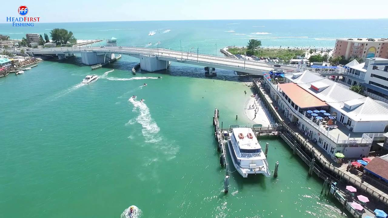 John 39 s pass florida drone video awesome views of the for Hubbards marina fishing