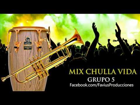 Pista Karaoke Demo: Mix Chulla vida (Grupo 5) - Favius Producciones