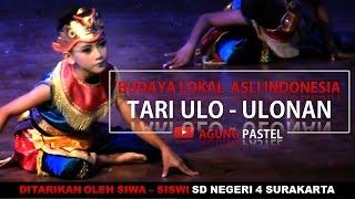 Tari Ulo ulonan Traditional dance snake Tari kelompok dengan tema permainan ular