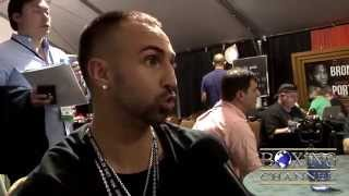 "Paulie Malignaggi ""I do have something against Pacquiao! He cheated!"""