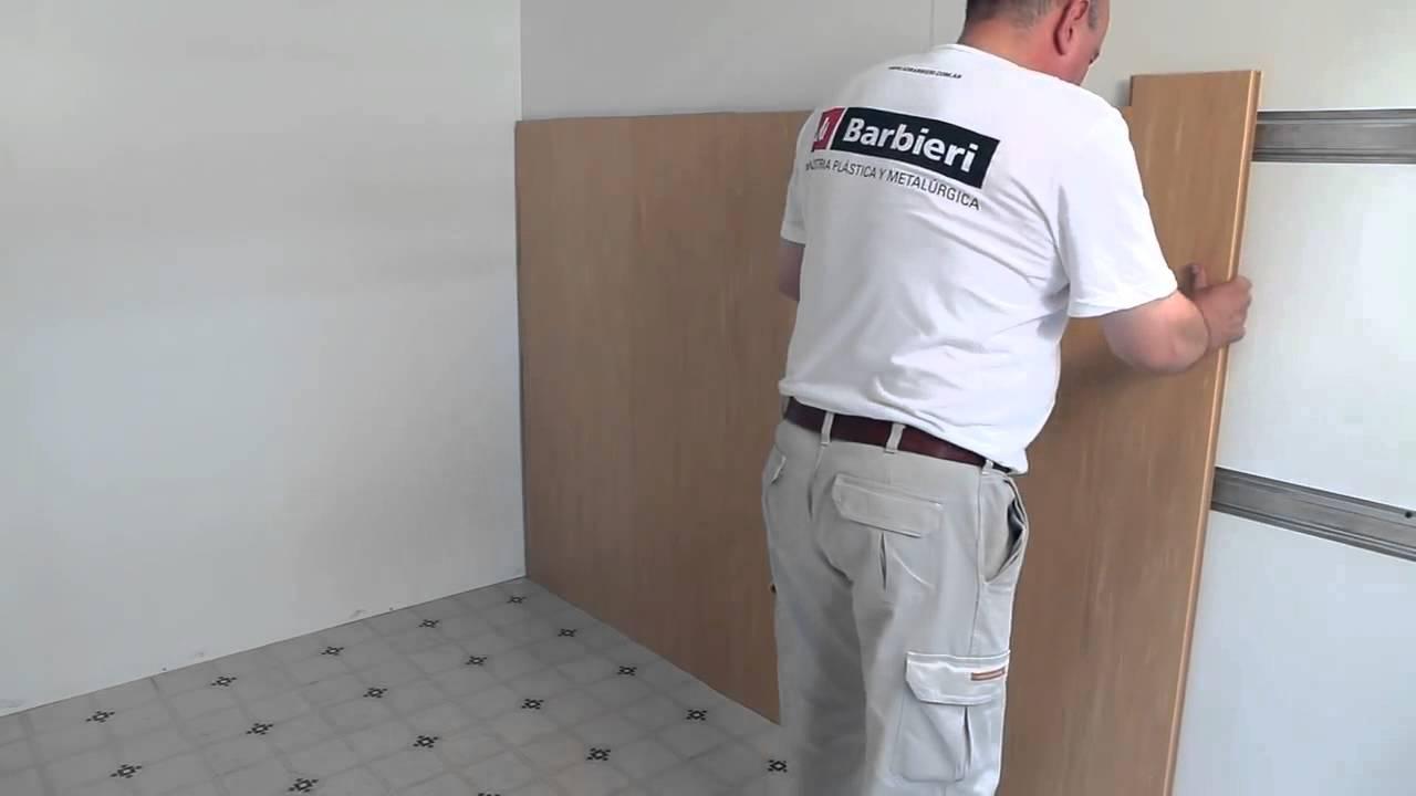 Instalaci n de un revestimiento de pared de pvc perfilplas for Revestimiento de pvc para paredes precios