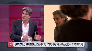 """Diputado Fuenzalida analiza ley """"antisaqueos"""""""