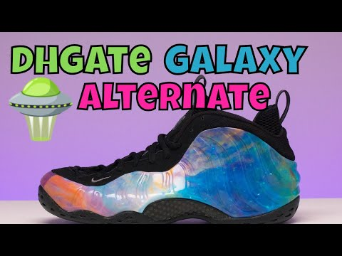 8b5944d214c77 Nike Air Foamposite alternate galaxy foams TRASH by shoe paper by ...