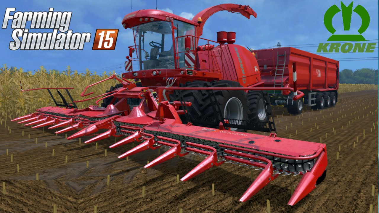 Farming Simulator 2015 mod harvester KRONE BIGXTREME HDR DYEABLE
