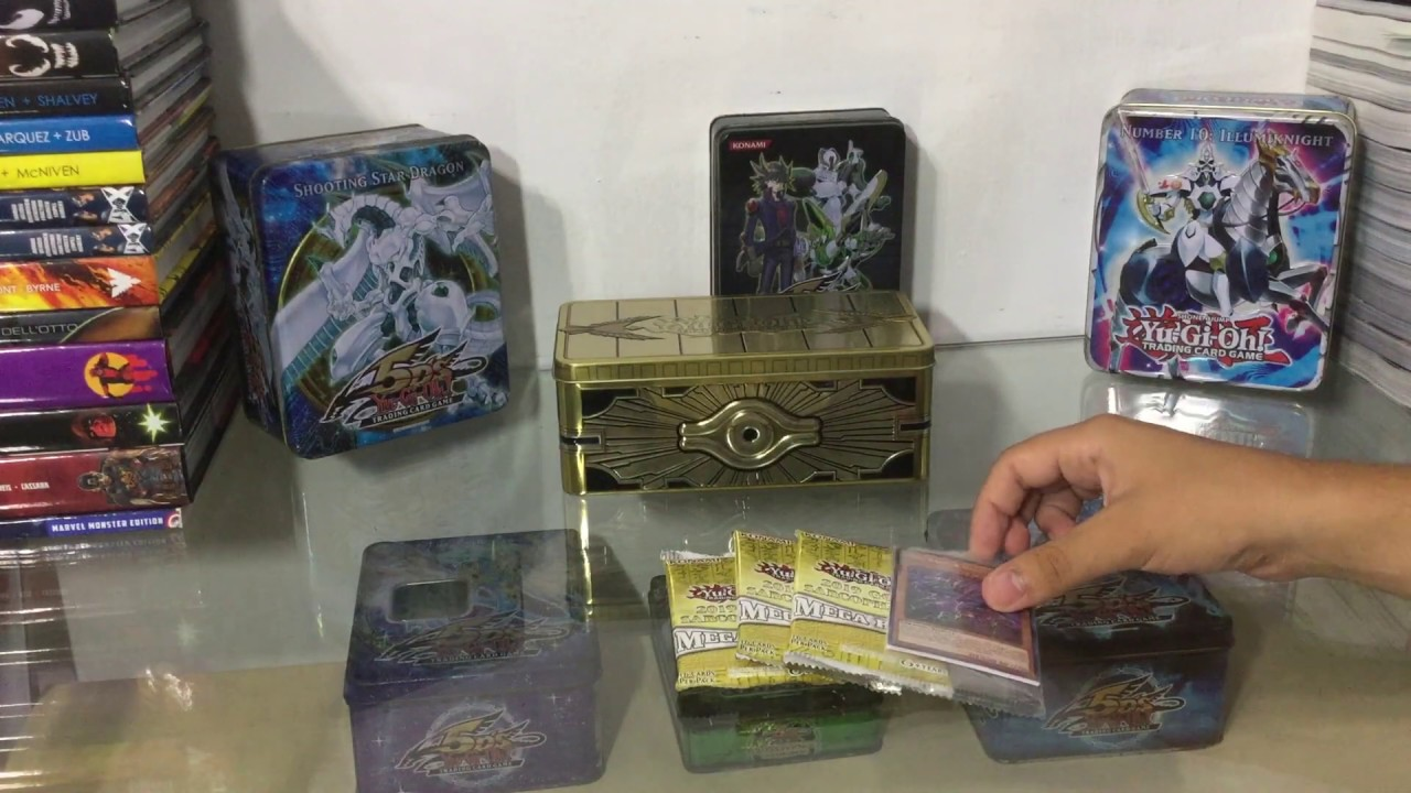 Unboxing: Yugioh Gold Sarcophagus 2019 Tin