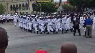 Barbados Remembrance Day Parade 2015