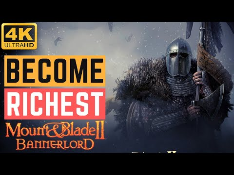Get Insane Amount of Gold in Mount and Blade 2 Bannerlord   TOP 10 TIPS   5 Minutes