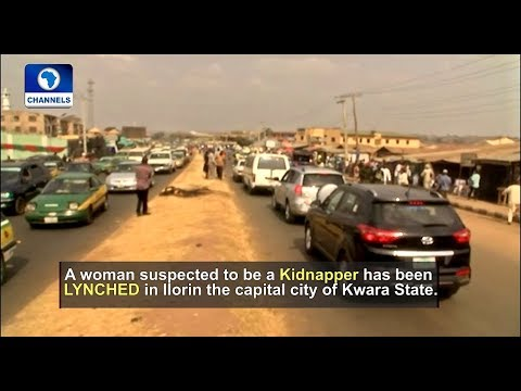 Suspected Female Kidnapper Lynched In Ilorin