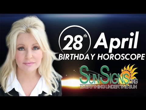 Birthday April 28th Horoscope Personality Zodiac Sign Taurus Astrology