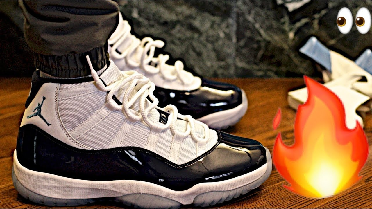 aaa0c1d1d2aa Nike AIR JORDAN 11 XI RETRO UNC  WIN LIKE  82  Sneaker Unboxing ...