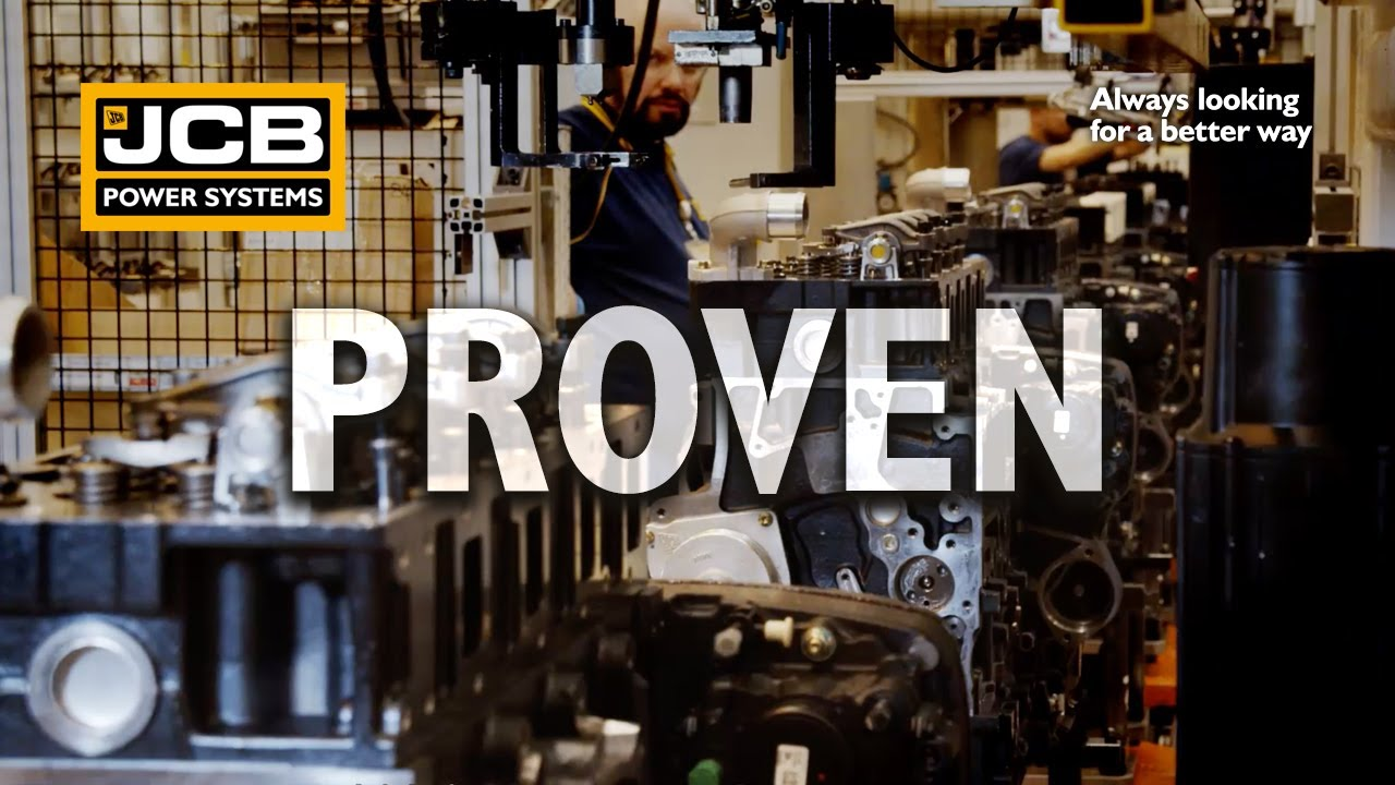 Proven Engines in Bespoke Applications - JCB Power Systems