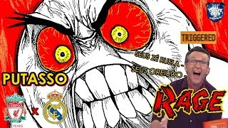 MASTER LIGA TOP PES || PERDI A PACIÊNCIA, QUE FASE || LIVERPOOL (PesVícioBR) X REAL MADRID (Hiiei_)