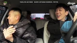 [ENG SUB] AOMG sending off Loco to the army on dingo
