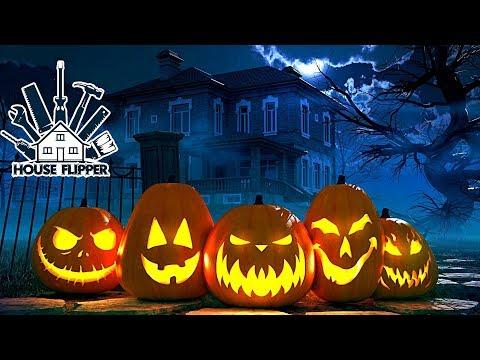 House Flipper - Дом с привидениями на Хэллоуин 🎃👻
