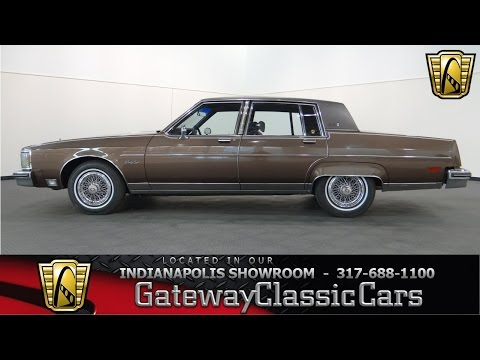1983 Oldsmobile 98 Regency Brougham - Gateway Classic Cars Indianapolis - #578NDY