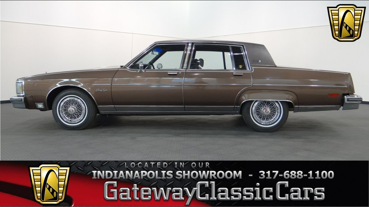 1983 oldsmobile 98 regency brougham gateway classic cars indianapolis 578ndy youtube. Black Bedroom Furniture Sets. Home Design Ideas