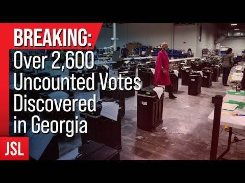 BREAKING: Over 2,600 Uncounted Votes Discovered in Georgia